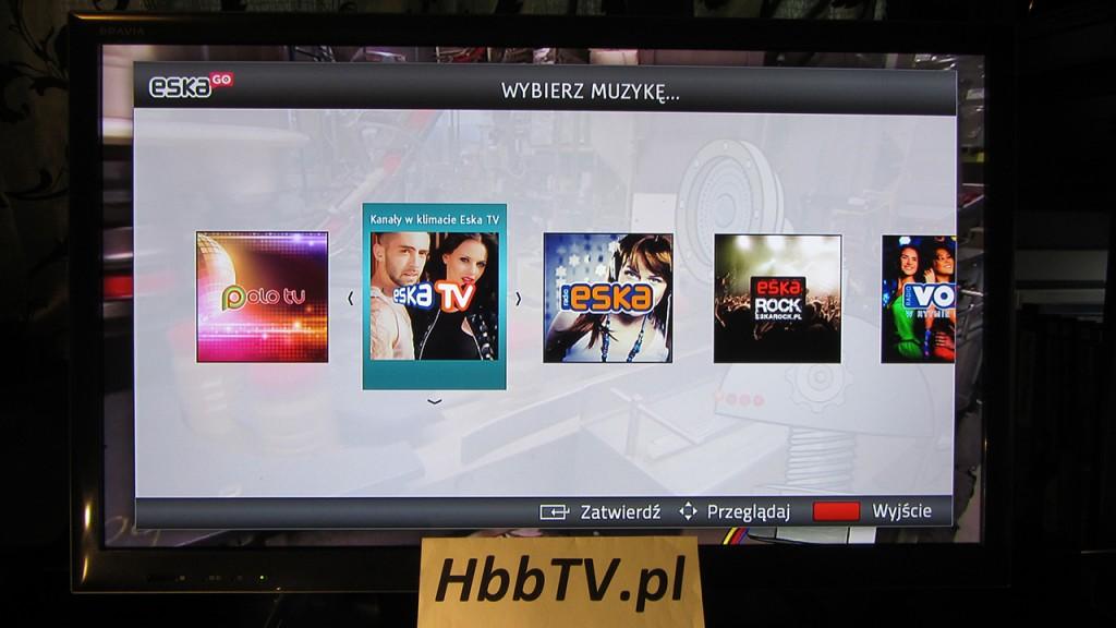 EskaGO w HbbTV na Fokus TV