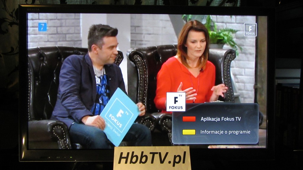 HbbTV na Fokus TV