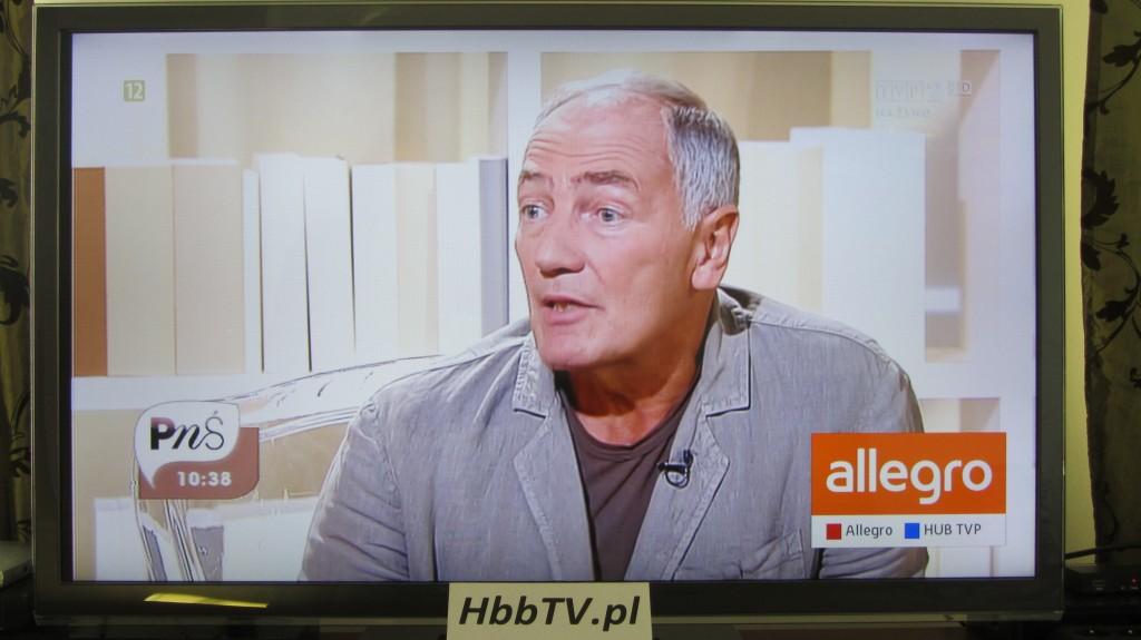 Red Button w aplikacji HbbTV Allegro 2
