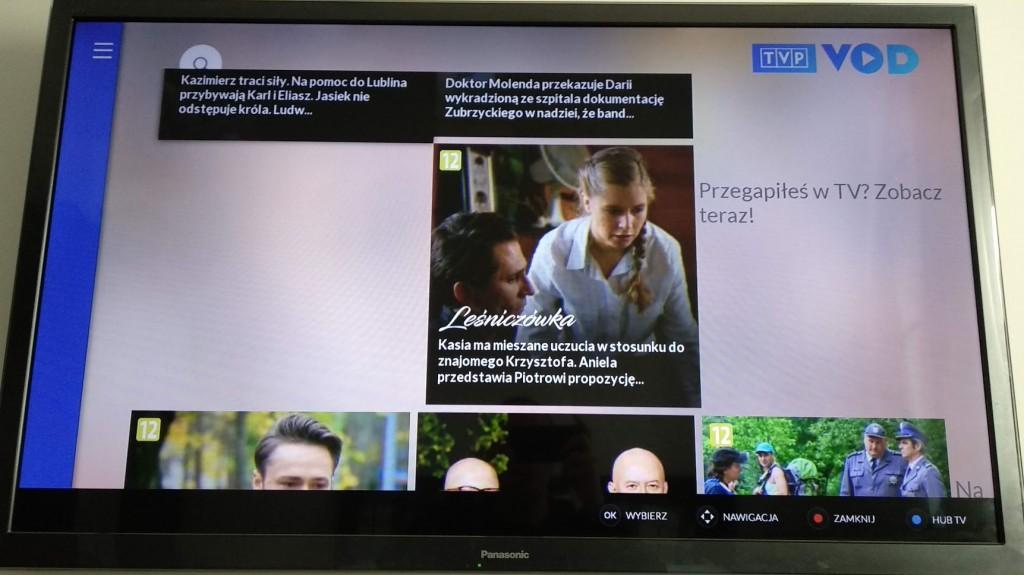 TVP VOD w HbbTV