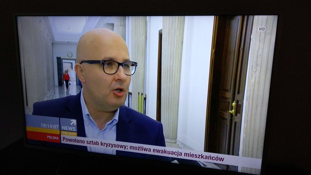 streaming w aplikacji HbbTV Polsat News